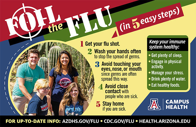 Flu facts flyer